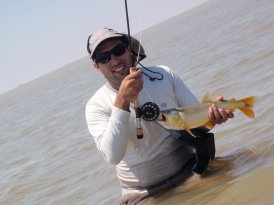 El Pimer pez con mosca de Adrian