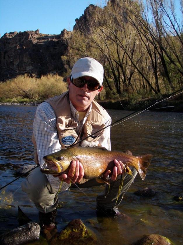 La marrón del Río Malleo